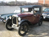 AUSTIN 7 COUPE 1929 EXTREMELY RARE CAR !