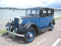 HILLMAN MINX 1935 SALOON NICELY RESTORED.