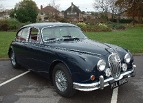 JAGUAR MK II 3.8 1966 FULLY RESTORED.