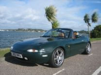 MAZDA MX5 TURBO ! ONLY 1,000 miles SINCE BUILD.