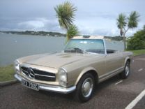 MERCEDES 230 SL PAGODA 1965 - 81,000 miles FULLY RESTORED !