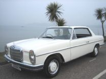 MERCEDES 250 CE COUPE 1971 EX JERSEY ONLY 48,000 miles !