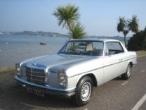 MERCEDES 280 CE - COUPE 1973 ONLY 52,000 miles FSH.