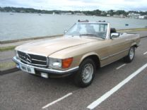 MERCEDES 280 SL 1983 PRIVATE PLATE 75,000 miles FSH