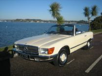 MERCEDES 280SL 1982 EX JERSEY ONLY 49,000 miles FSH.
