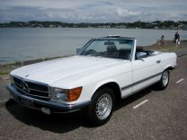MERCEDES 280SL 1983 ONLY 51,000 FSH LAST OWNER 31 YEARS.