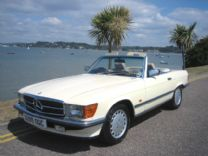 MERCEDES 300 SL 1986 ONLY 33,000 miles