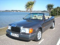 MERCEDES 320 CE 24V CONVERTIBLE 1993 - 72,000 miles.