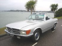 MERCEDES 350 SL 1976 - ONLY 2 OWNERS 89,000 miles !
