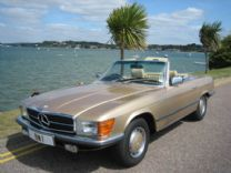 MERCEDES 350 SL V8 1980 WITH HARD & SOFT TOPS