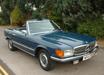 MERCEDES 350SL V8 1972 TAX EXEMPT