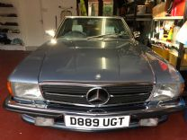MERCEDES 420 SL 1986 ONLY 61,000 miles FSH.