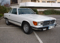 MERCEDES 450 SL 1978 LHD with AC.