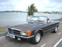 MERCEDES 500 SL 1982 EX TITLED OWNER 29,000 miles !