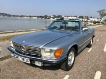 MERCEDES BENZ 280 SL - 1982 ONLY 74,000 miles FSH.