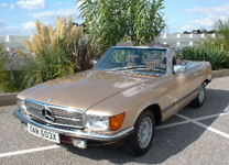 MERCEDES BENZ 280SL 1982-X.