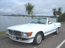 MERCEDES BENZ 300 SL 1989-F - ONLY 85,000 miles FSH.