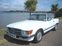 MERCEDES BENZ 300SL 1989-F ONLY 55,000 miles !