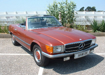 MERCEDES BENZ 350SL V8 1975-N (1 owner from new)