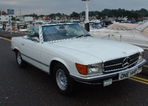 MERCEDES BENZ 350SL V8 1975-P SOFT-TOP