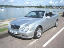 MERCEDES CLK 320 V6 CAB HUGE SPEC ! FULL MB SERVICE HISTORY