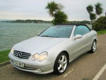 MERCEDES CLK 320 V6 CONVERTIBLE 2005-55 ONLY 42,000 miles FSH.