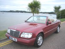 MERCEDES E220 SOFT TOP - 1994 - 73,000 miles