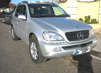 MERCEDES ML 270 CDi 0353-11,000miles 1 OWNER.