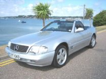 MERCEDES SL 320 V6 1999-S Facelift.