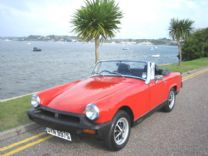 MG MIDGET 1978 VERMILLION