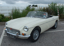 MG ROADSTER 1967-5,500miles since re-build