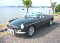 MG ROADSTER 1972-TAX EXEMPT