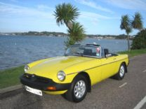 MG ROADSTER 1980 RESTORED BY MG CLUB ONLY 64,000 miles !