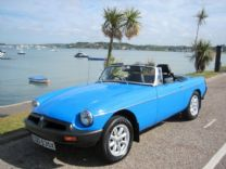 MG ROADSTER 1981 - ONLY 10,500 miles FROM NEW !