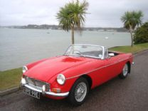 MG ROADSTER CHROME BUMPER 1967 - TAX EXEMPT