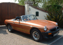 MG ROADSTER LE 1980-W 2,500miles !!!!