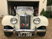 MG TF 1500 ROADSTER 1955 - FULL RESTORED.