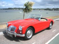 MGA ROADSTER 1500 - 1958 EX-CALIFORNIA CAR