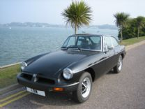 MGB GT AS NEW UNREGISTERED LESS THAN 100 miles !