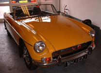 MGB ROADSTER 1970-J TAX EXEMPT