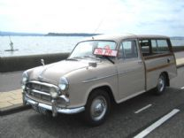 MORRIS OXFORD WOODY ESTATE 1955