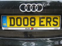 NUMBER PLATE.