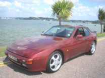 PORSCHE 944 LUX 1986 WITH PRIVATE PLATE