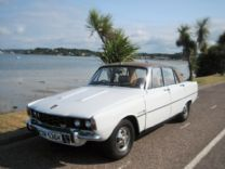ROVER P6 V8 3500S SERIES II 1972.